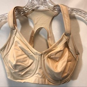 Athleta Women's Bra 34DD Nude Color